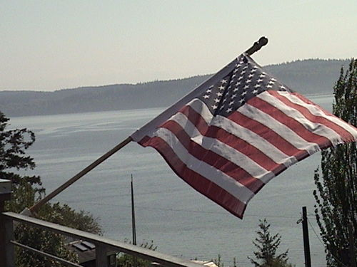2005 american flag