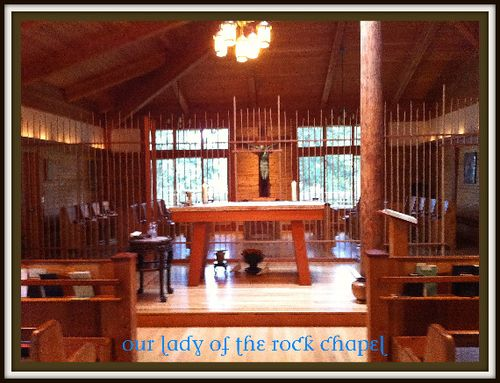 Our lady of the rock chapel